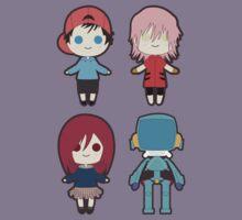 FLCL Cuties by juiceboxjay
