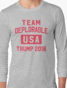 Team Deplorable Long Sleeve T-Shirt