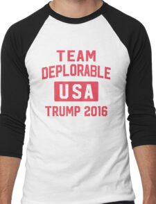 Team Deplorable Men's Baseball ¾ T-Shirt