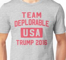 Team Deplorable Unisex T-Shirt