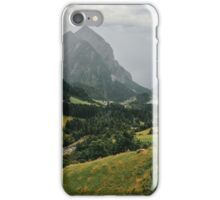 Swiss Alps - Rainy Afternoon in Camp Blenio (Ticino, Switzerland) iPhone Case/Skin
