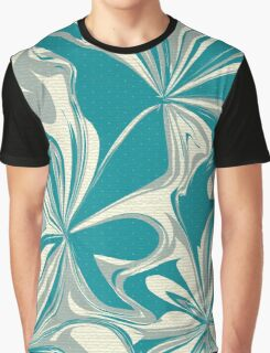 Abstract Flowers 2 Graphic T-Shirt