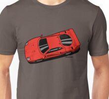 Berlinetta Rosso F40 Red Unisex T-Shirt