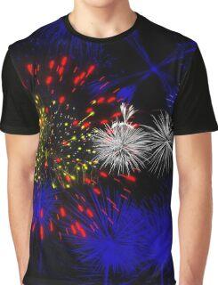 Colorado Firework Flag Graphic T-Shirt