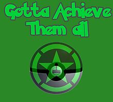 Achievement Hunter - Gotta achieve them all - Pokemon by Mogar .