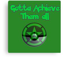 Achievement Hunter - Gotta achieve them all - Pokemon Canvas Print