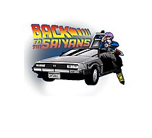 Back To the Saiyans Photographic Print
