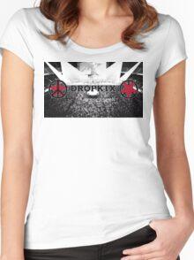Space Dandy Dropkix Merch Women's Fitted Scoop T-Shirt