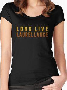 Long Live Laurel Lance Women's Fitted Scoop T-Shirt