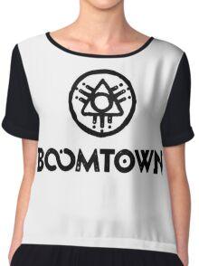 boomtown festival  Women's Chiffon Top
