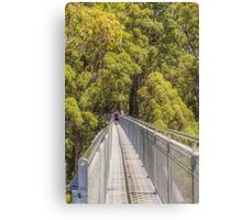In the Tree Tops Canvas Print