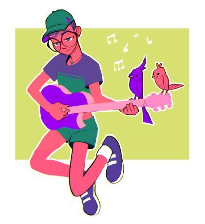 The Song Bird Sticker