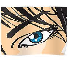 Woman eye Poster
