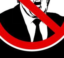 No Trump Sticker