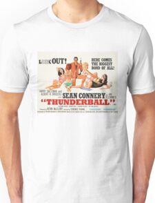 James Bond - Thunderball Movie Poster Unisex T-Shirt
