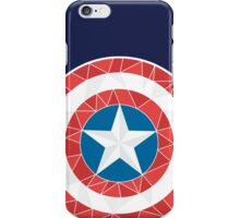 Captain America - Stylised Shield iPhone Case/Skin