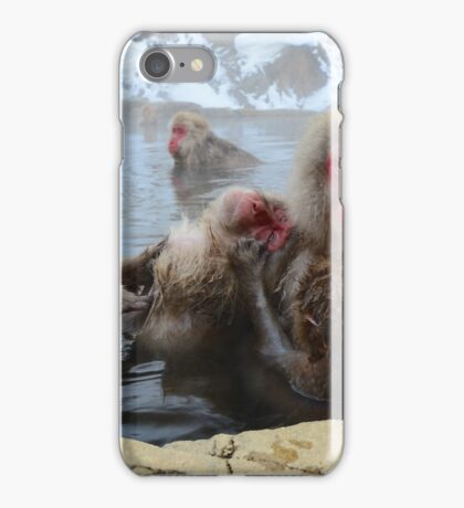 Family grooming time iPhone Case/Skin