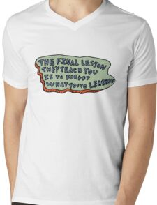 Forget What You've Learned Mens V-Neck T-Shirt