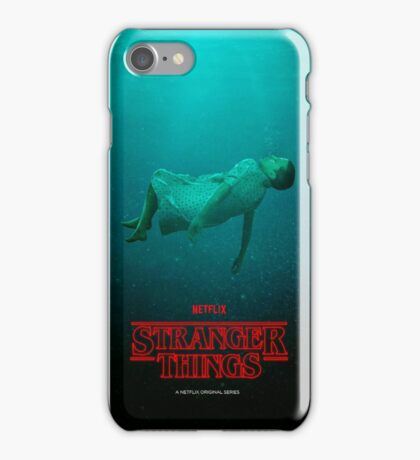 Stranger Things Eleven 11 Water  iPhone Case/Skin