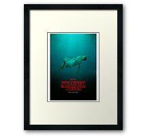 Stranger Things Eleven 11 Water  Framed Print