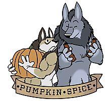 My Fair Were: Pumpkin Spice Photographic Print