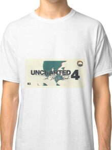 Uncharted 4   Nathan Classic T-Shirt