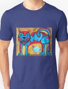 Catius Maximus and the little Blue Bird  Unisex T-Shirt