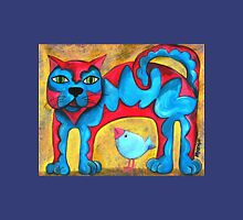 Catius Maximus and the little Blue Bird  Womens Fitted T-Shirt