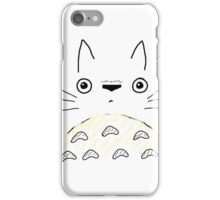 Totoro Face iPhone Case/Skin