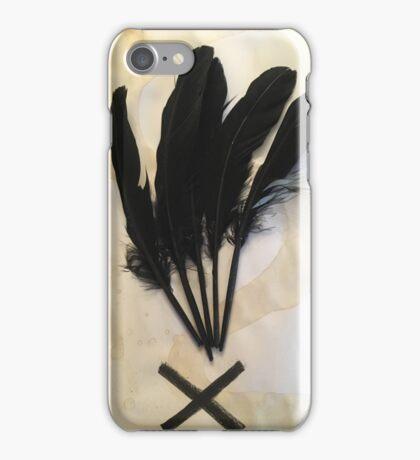 Symbolic Feather iPhone Case/Skin