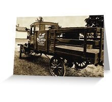 Vintage Hauler Greeting Card