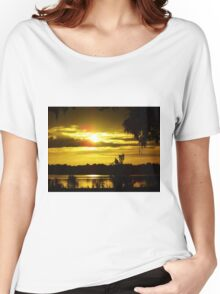 Sunrise At The Lake Women's Relaxed Fit T-Shirt