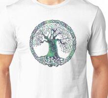 CELTIC KNOTS TREE OF LIFE - swamp midnight Unisex T-Shirt