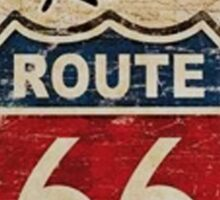 Route 66 Kicks Sticker