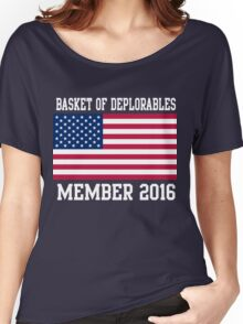 Basket of Deplorables Member 2016 Women's Relaxed Fit T-Shirt