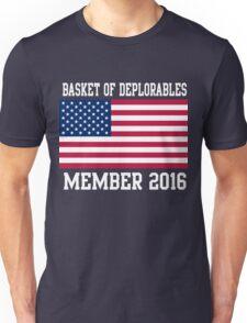 Basket of Deplorables Member 2016 Unisex T-Shirt