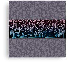 Clean Stripe (Vice) Canvas Print
