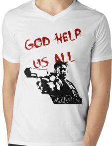 God help us all Mens V-Neck T-Shirt
