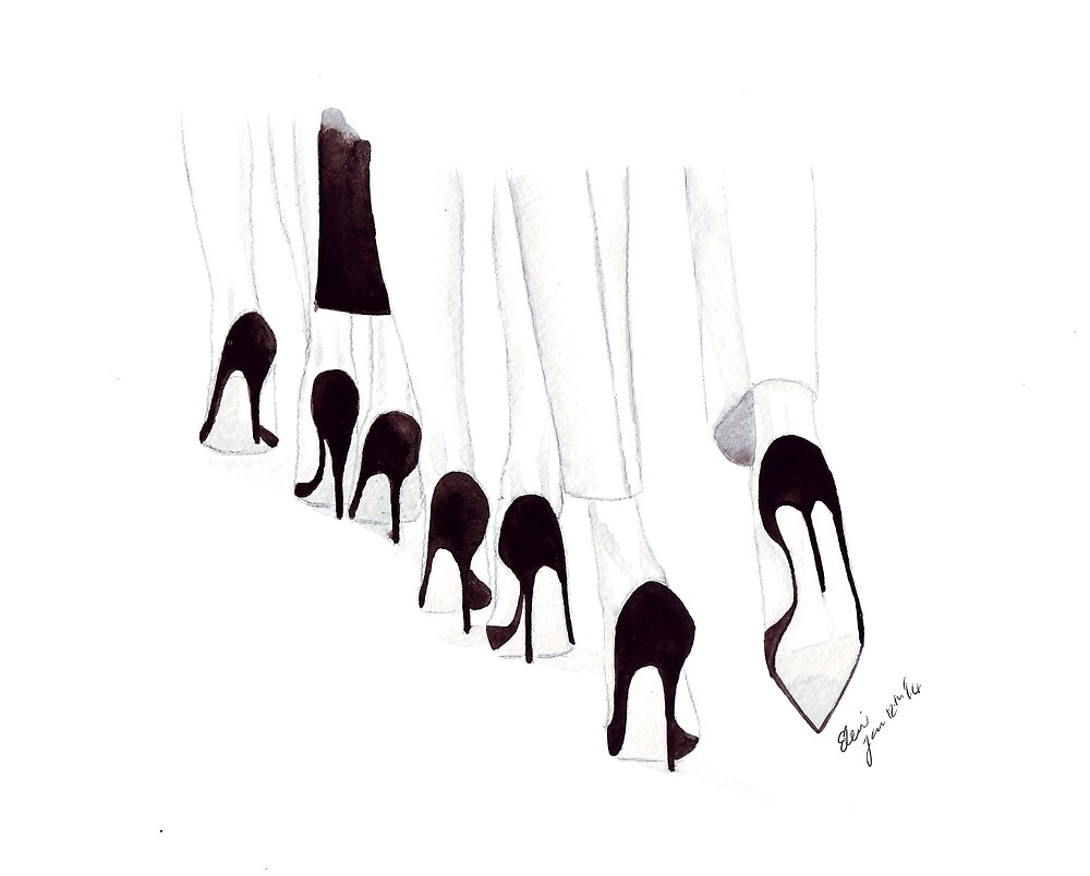 Shoes Shoes Shoes... by Eleni Fall into London
