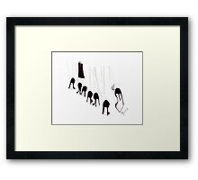 Shoes Shoes Shoes... Framed Print