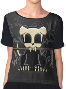 Grim Reapets - A Dog Named Decay - Grim Pets Chiffon Top