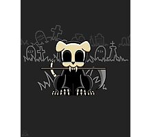 Grim Reapets - A Dog Named Decay - Grim Pets Photographic Print