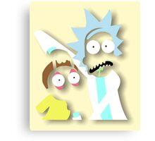 Rick and Morty: Mega Tree Seeds Canvas Print