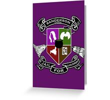 Sanderson Academy Greeting Card