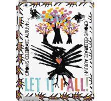 crow autumn iPad Case/Skin