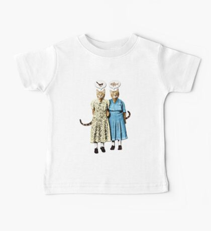 Two Cool Kitties: What's for Lunch? Baby Tee