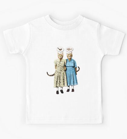 Two Cool Kitties: What's for Lunch? Kids Tee