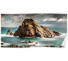 Sugarloaf Rock, Dunsborough WA Poster