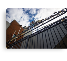 Shankly Gates - Liverpool FC - Anfield Canvas Print