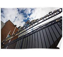 Shankly Gates - Liverpool FC - Anfield Poster